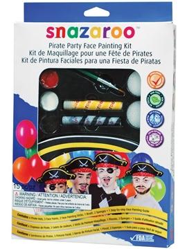 Kit Maquillaje Fiesta Pirata
