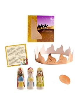 Kit Roscón de Reyes Completo 5 Piezas
