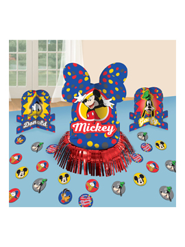 Kit para decorar mesas de Mickey Mouse de 33 piezas
