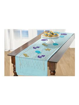 Kit de camino de mesa de sirena con figuras