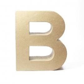 Letra B de Cartón 17cm