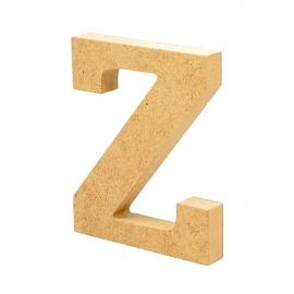 Letra de Madera Z 12cm