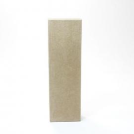 Letra I de Cartón 17cm