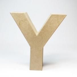 Letra Y de Cartón 17cm