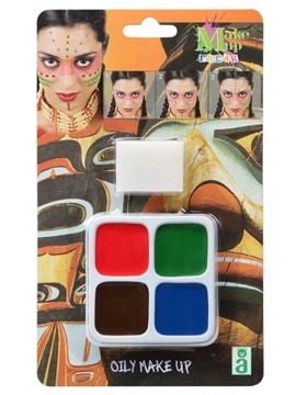Maquillaje Carnaval en Cera