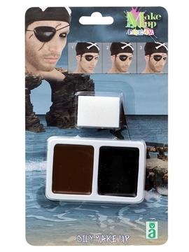Maquillaje Pirata en Cera