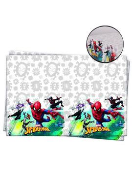 Mantel de Plástico Spiderman Team Up