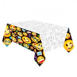 Mantel de plástico Emoticonos