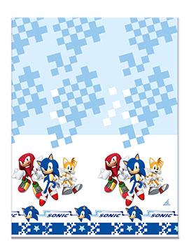 Mantel de Plástico Sonic The Hedgehog