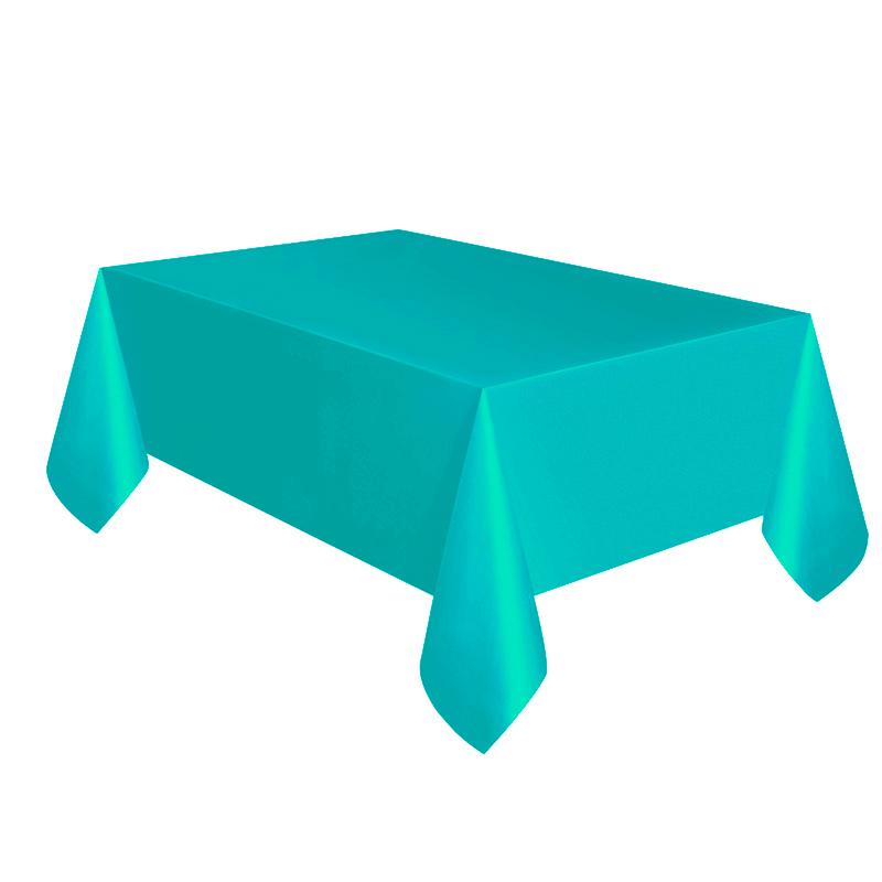 Mantel de Plástico Turquesa