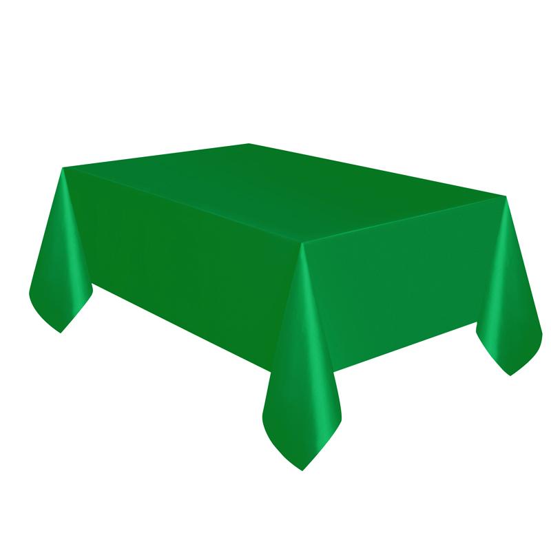 Mantel de Plástico Verde