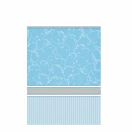 Mantel plástico para Comunión Azul