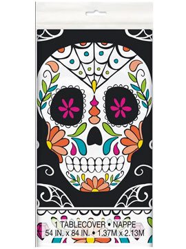 Mantel Plástico Día de los Muertos