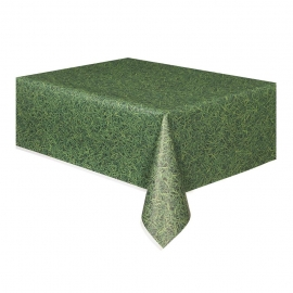 Mantel Plástico Hierba Verde
