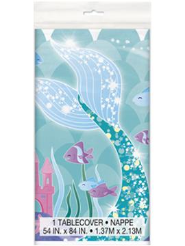 Mantel de Plástico Sirena