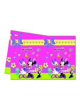 Mantel plástico de Minnie mouse 120x180cm
