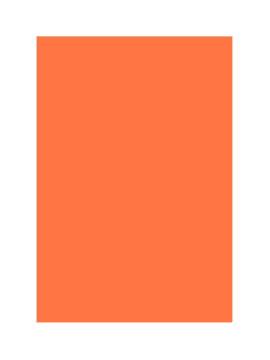 Mantel de Papel Naranja