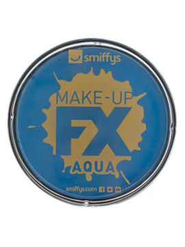 Maquillaje al agua en color azul pálido de 16 gr