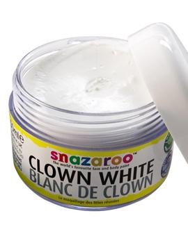 Maquillaje Blanco Payaso en Crema 50ml