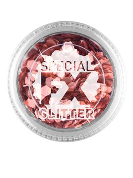 Maquillaje Confetti Glitter Oro Rosado
