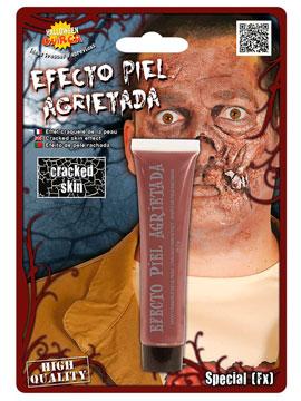 Maquillaje Efecto Piel Zombie Agrietada