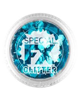 Maquillaje Glitter Azul Confetti 2 gramos
