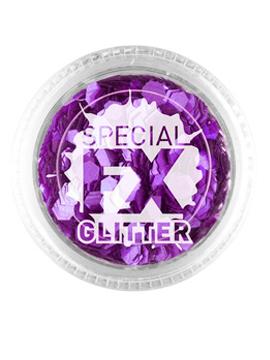 Maquillaje Glitter Lila Confetti 2 gramos