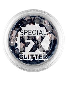 Maquillaje Glitter Negro Confetti 2 gramos