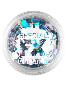 Maquillaje Glitter Plata Confetti 2 gramos