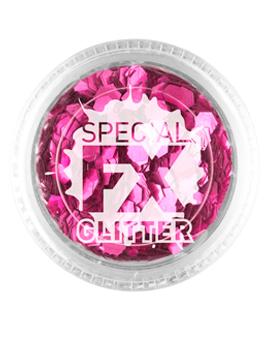 Maquillaje Glitter Rosa Confetti