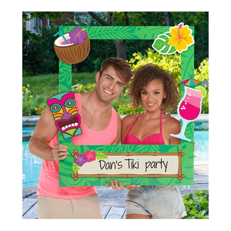 Marco para Photocall Personalizable Hawaii 88 cm
