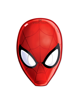 Pack 6 máscaras Ultimate Spiderman