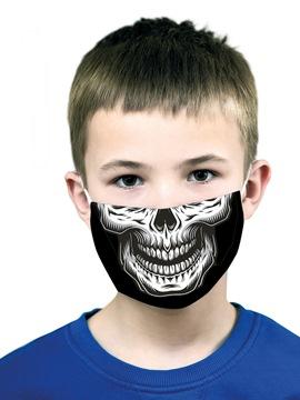 Mascarilla Esqueleto Infantil con Filtro