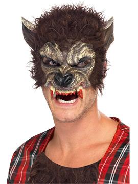 Media Máscara Hombre Lobo