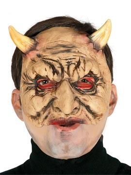 Media Máscara Satanás Látex