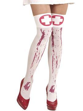 Medias de Enfermera Sangrienta