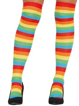 Medias Rayas Multicolor