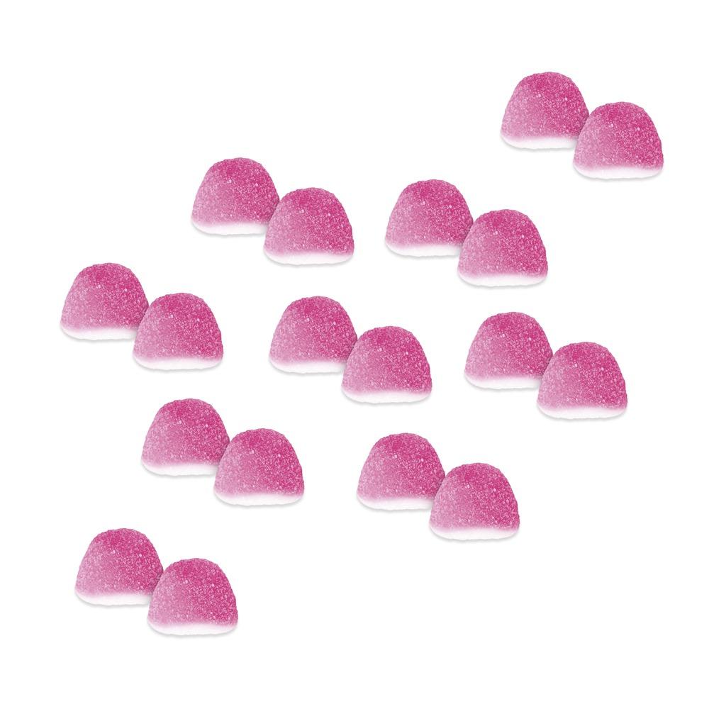 Mini Besos Rosas de Azúcar 1 Kg