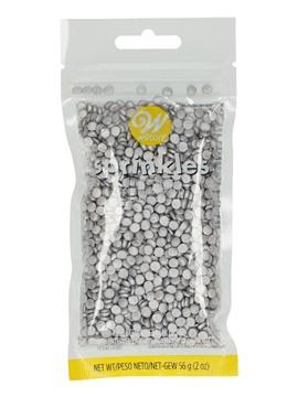 Mini Confetti de Azúcar Plata