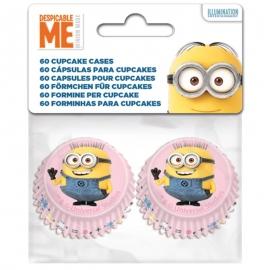 Mini Cápsulas para Cupcakes Minions