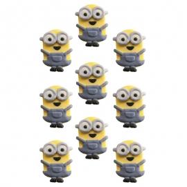 Mini figuras de azúcar Minions