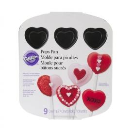 Molde para Mini Pasteles Corazón