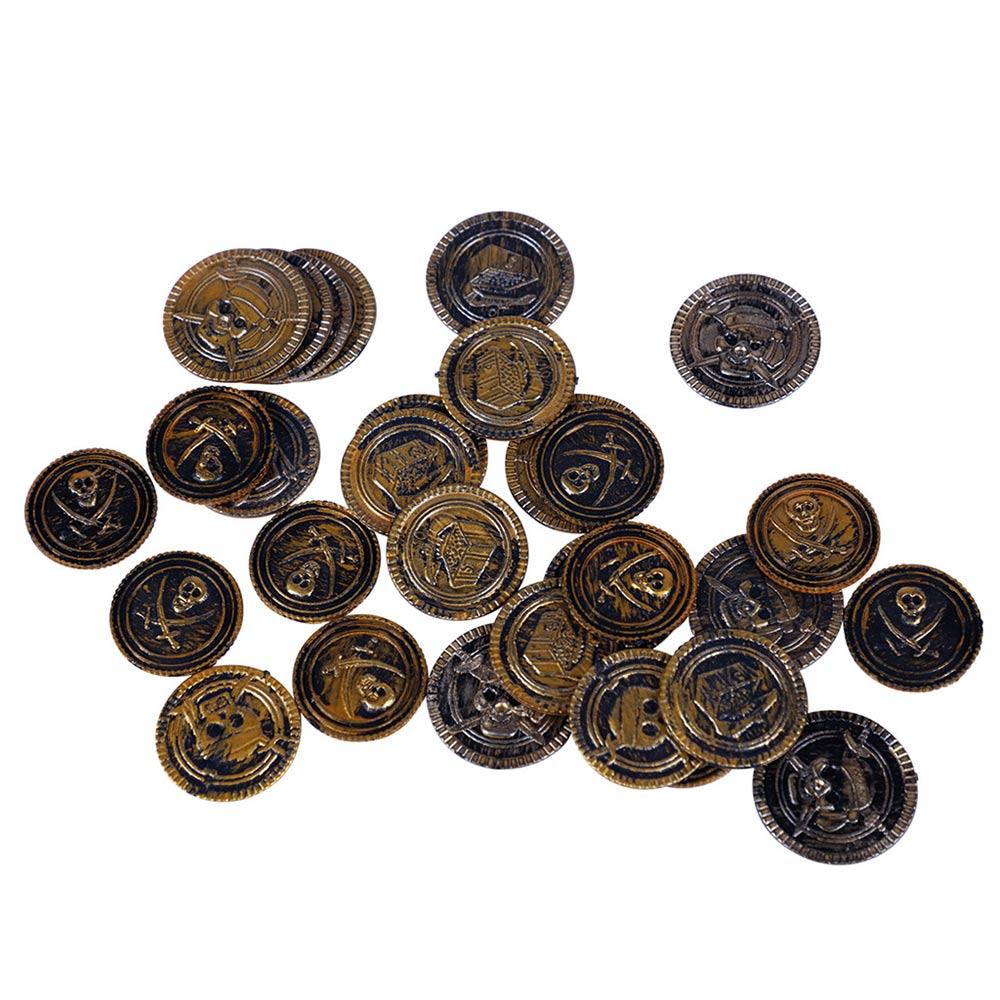 Monedas pirata 30 unidades