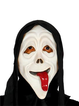 Máscara con Capucha Asesino Burlón