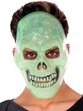 Máscara Calavera Fluorescente
