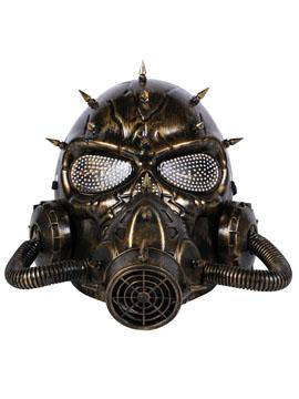 Máscara Dorada Steampunk