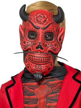 Máscara Demonio Día de los Muertos Infantil