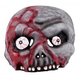 Máscara de Halloween Zombi - Miles de Fiestas