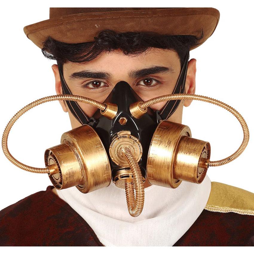 Máscara Gas Steampunk