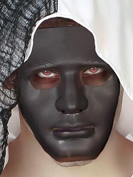 Máscara Negra Halloween